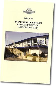 RSA Regulations Booklet