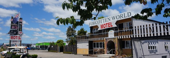 Forgotten World Motel 9 Hakiaha Street, Taumarunui Phone: (07) 895 7181 or Freephone: 0800 101 941